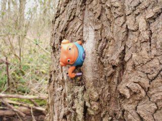 Nieuwe bosbewoner... . . #middeninhetbos #verrassinginhetbos #hoelang  #hoelangal #verrassing #bostrol #plasticfantastic #woodtroll #surprise #surpriseintheforest #surprisesinthewoods #surpriseenforet #überraschungimwald #natuurfotografie #camper_no_mad